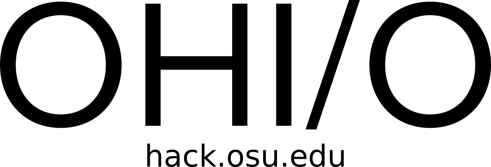 OHIO Logo with URL (Black Text - Transparent Background)